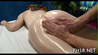 Molten legitimate year old girl gets fucked rock hard by her massage therapist!