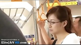 Jav teacher fucked on the bus