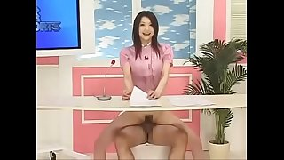 Japanese reporter fucked as she reports the news - www.tubeempire.site