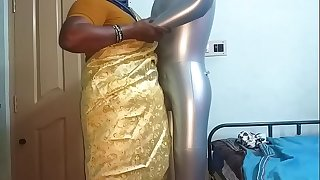 tamil aunty telugu aunty kannada aunty malayalam aunty Kerala aunty hindi bhabhi horny desi north indian south indian horny vanitha wearing saree school teacher showing big boobs and shaved cunt press hard boobs press nip rubbing cunt fucking sex doll